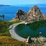 Radfahren am Baikalsee